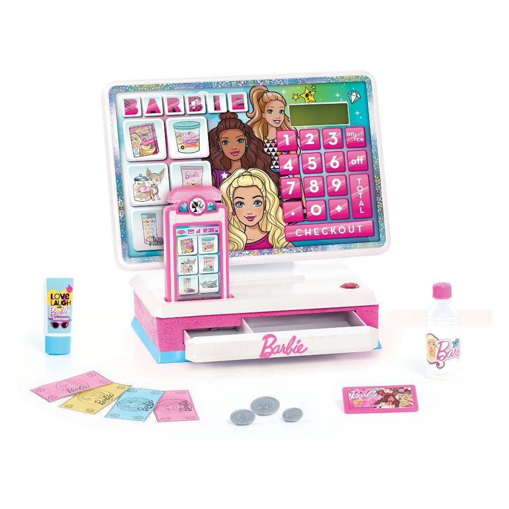 Barbie large cash register barbie toys for girls