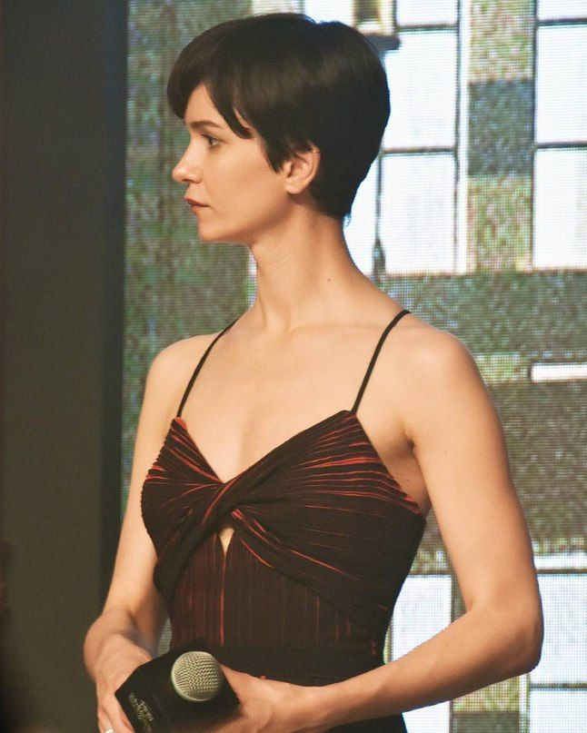 Katherine Waterston Balyage Short Hair Katherine Waterston Short Hair Styles