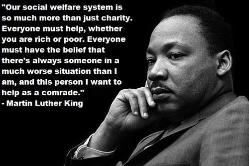 Our Social Welfare System Martin Luther King Jr Martin Luther King King Jr