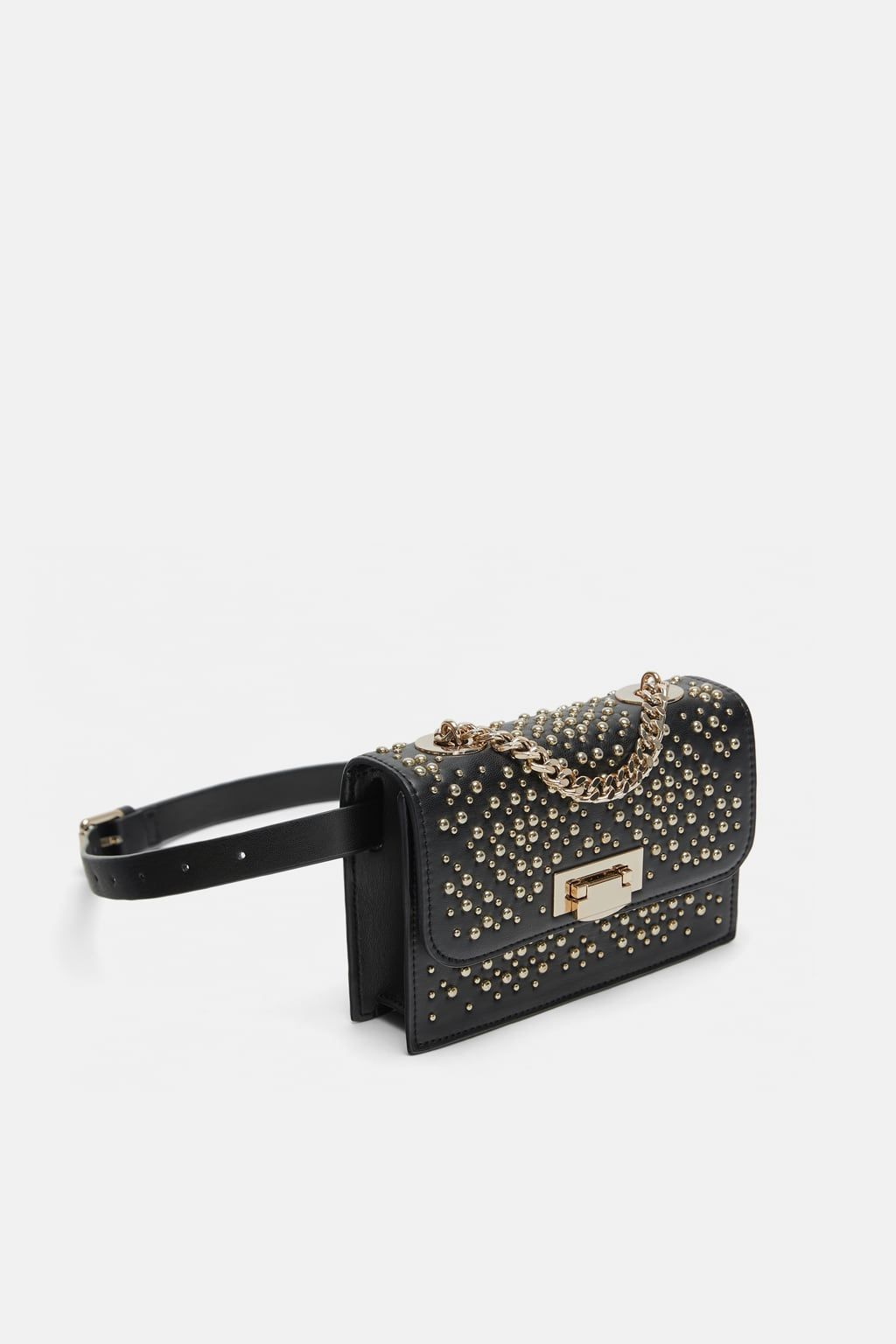 Image 3 of MICRO-STUDDED BELT BAG from Zara   Zara 2018   Zara ... 7411ea361e