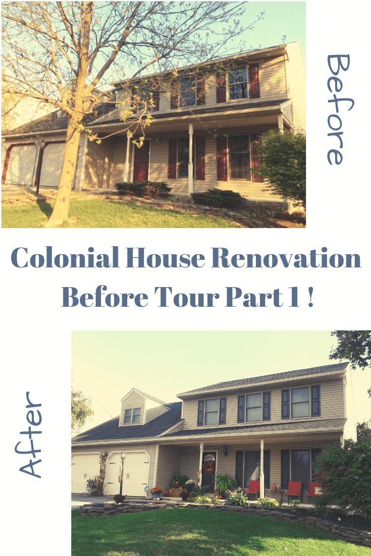 Forclosure Remodel: Foreclosure House Renovation Before Tour Part 1 (With