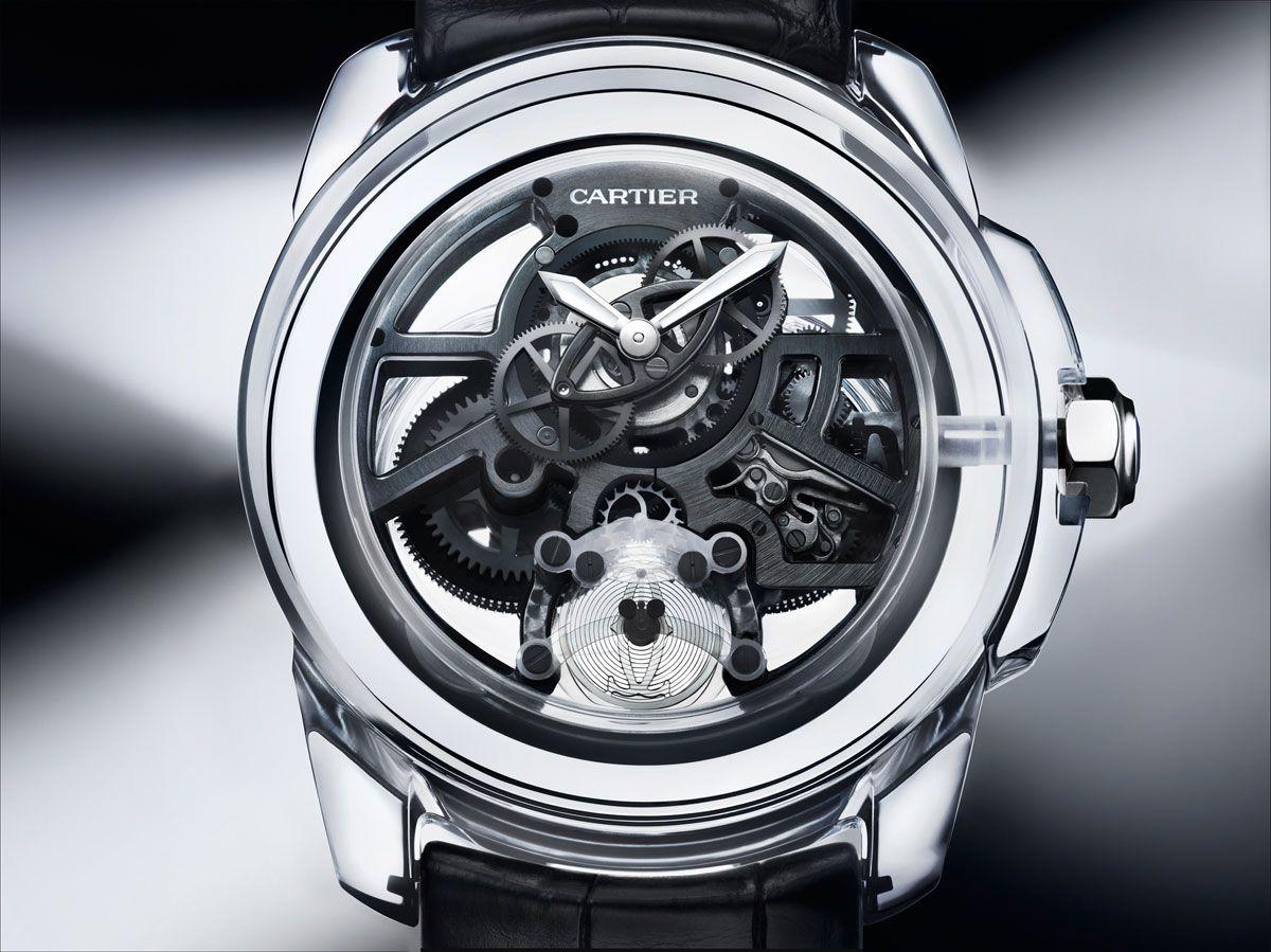 cartier presents a new concept watch the cartier id two erkek saat saatler watches