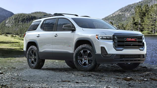 The 2020 Gmc Acadia Gets An Off Road Look And A Wacky Push