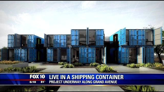 Architects turning shipping containers into homes - FOX 10