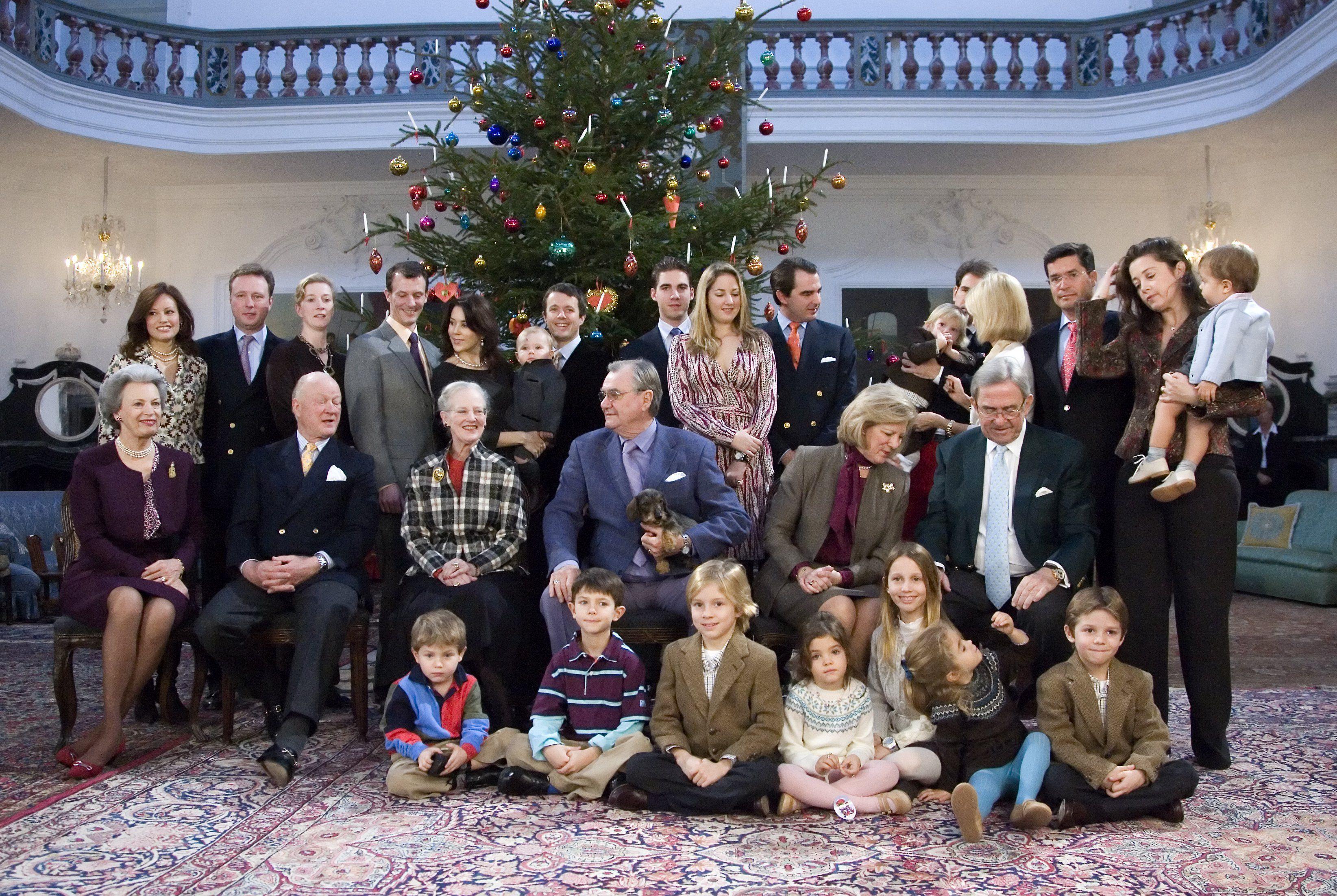 Danish & Greek Royal families, Christmas 2014