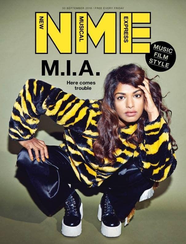"tecoapple.com no Twitter: ""A rapper M.I.A. empresta sua beleza para a capa do semanário NME Magazine | https://t.co/HlpxzxBdC0 https://t.co/YXDmwchEFM"" ."