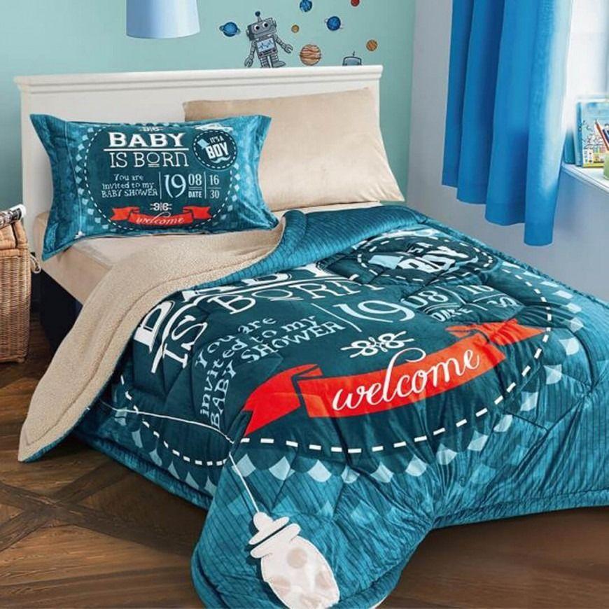 مفرش أطفال مايا Baby Boy Blanket Bed