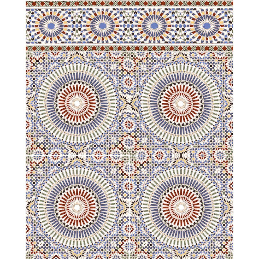 Marokkanische fliesen tanger home frames wall art - Fliesen orientalisch ...