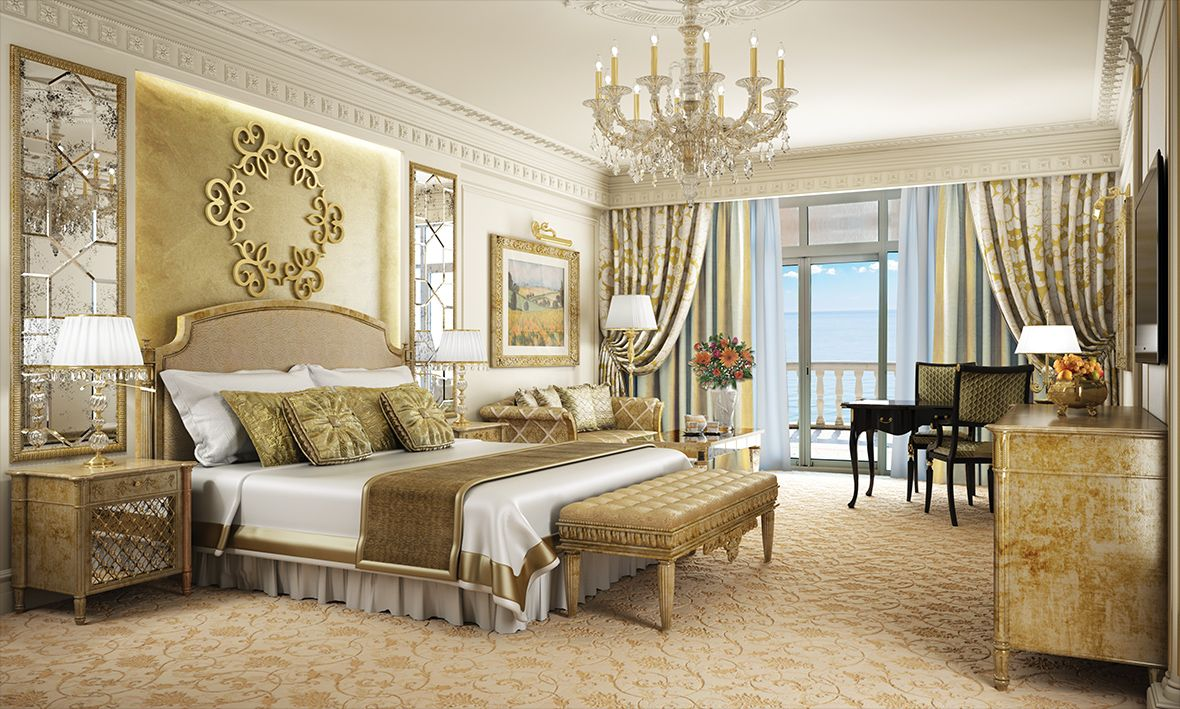 emerald palace kempinski hotel guest suite in gold httpemeraldpalacerecom