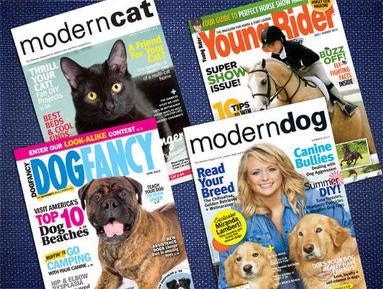 12 Popular Pet Magazines 50 OFF + 10 Living Social Promo