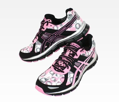 ASICS x Hello Kitty Sneakers: Pink perfect for running and crossfit while  looking cute!