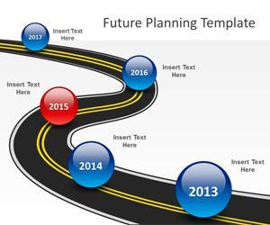 Free Roadmap PowerPoint templates | Forms and Print Outs | Pinterest