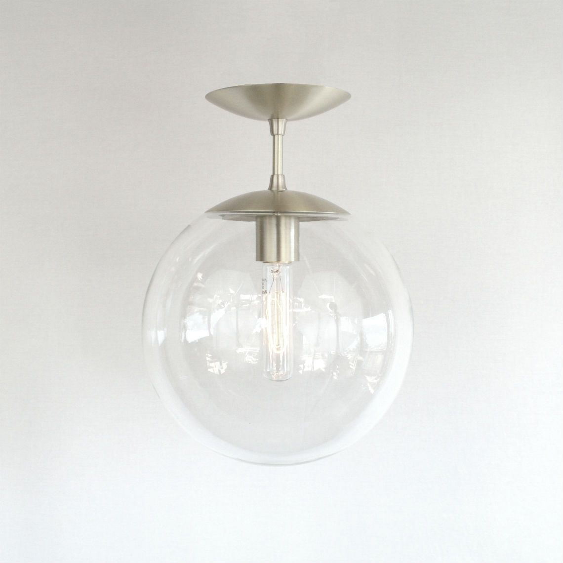 Orbiter 10 Semi Flush Pendant Light
