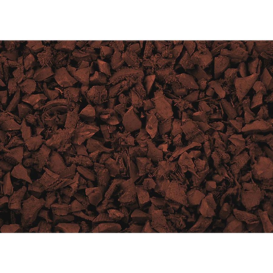 NuScape 75cu ft Red Bulk Rubber Mulch (Ipema Certified