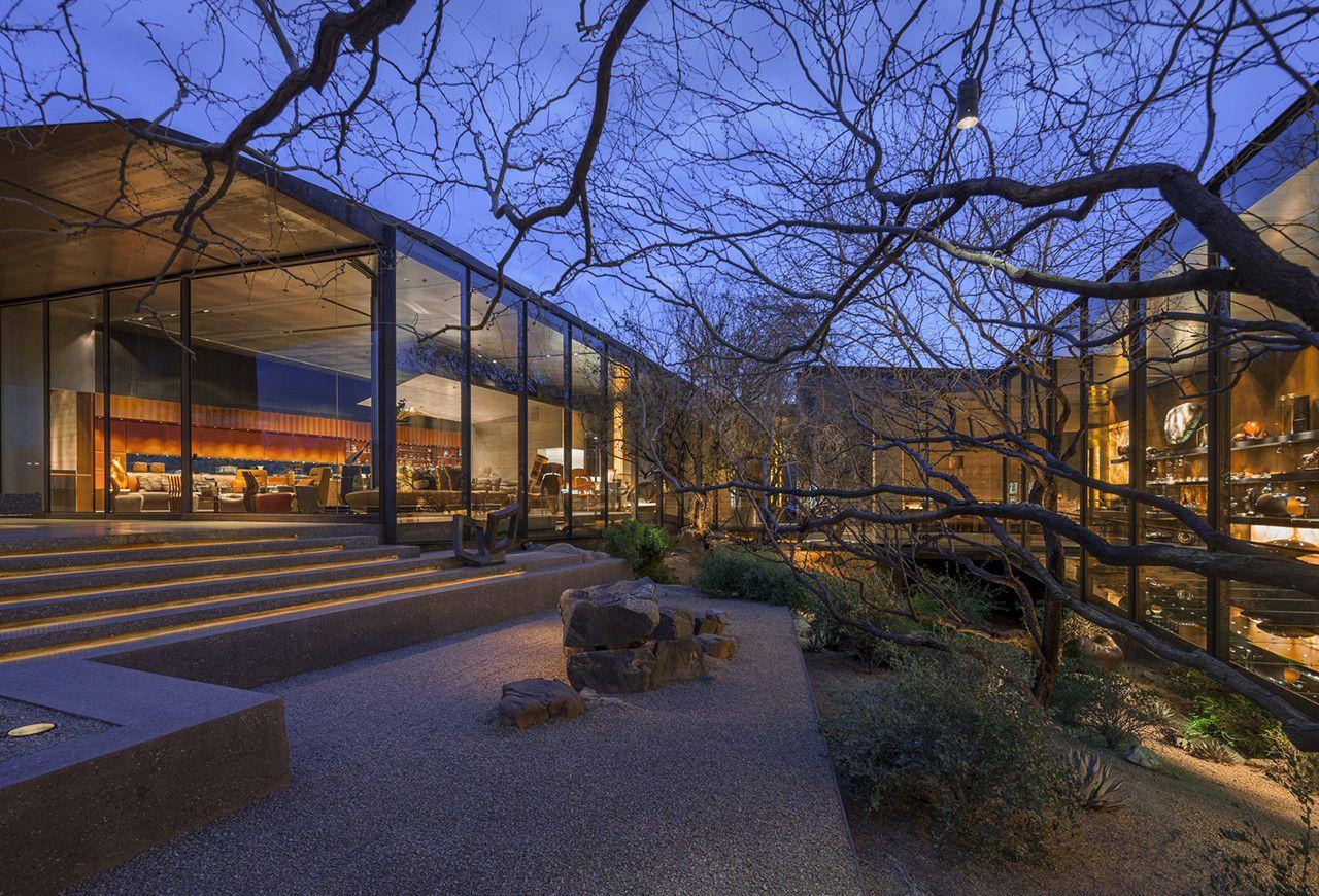 Gallery of Desert Courtyard House / Wendell Burnette Architects ...