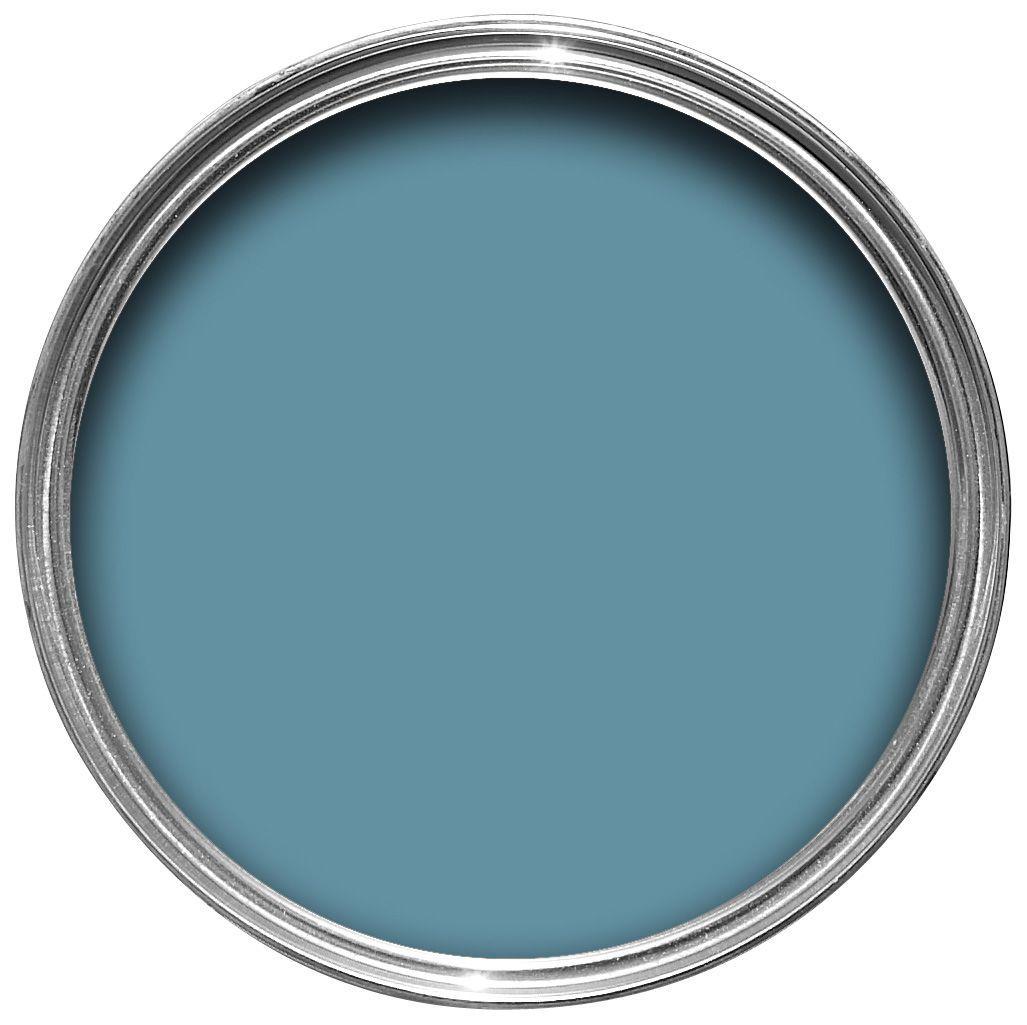 Kitchen Feature Wall Paint Dulux Kitchen Stonewashed Blue Matt Emulsion Paint 25l For The