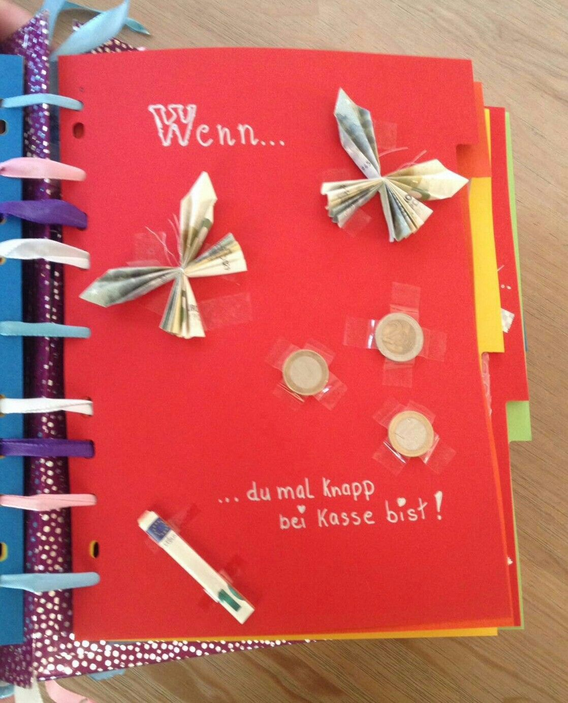 Witzige Geschenke, Geschenke Basteln, Diy Geschenke, Wenn Du Buch,  Herbstlaub, Geburtstag Geschenke, Jugendweihe, Selbstgemachte Geschenke,  Abschied