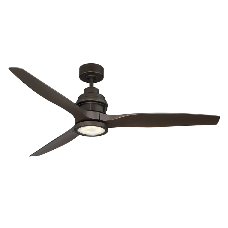 60 Harmoneyq 3 Blade Propeller Ceiling Fan With Remote Control And Light Kit Included In 2020 Ceiling Fan With Remote Led Ceiling Fan Ceiling Fan