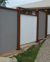 Ripple Iron Fence Panels Ripple Iron Garden Fence Panels Metal Fence Metal Fence Panels