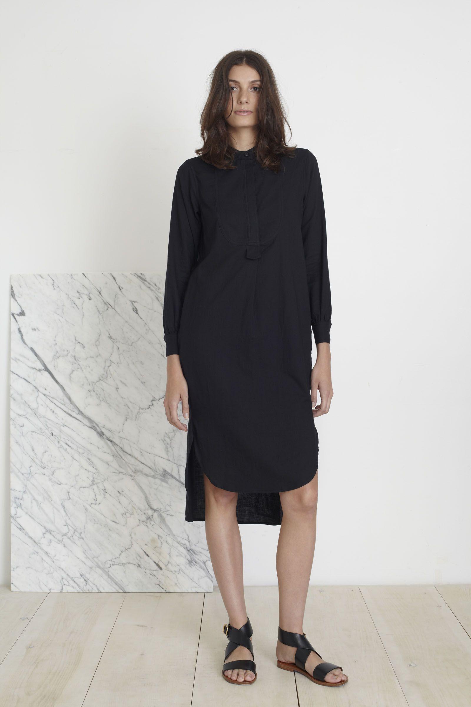 Apiece Apart FW15 | Samara Shirt Dress