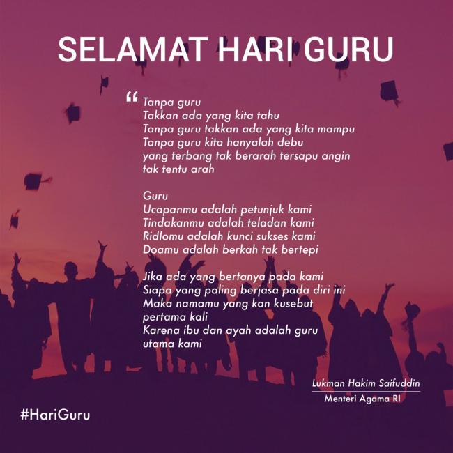 Image Result For Puisi Hari Guru Guru Tahu Doa