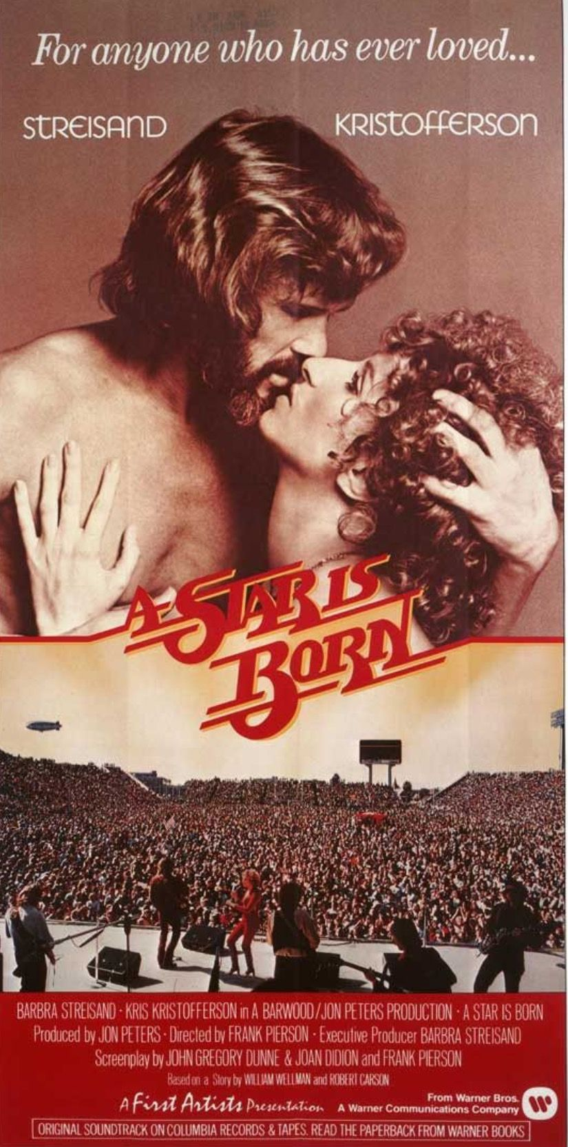 A Star Is Born 1976 A Star Is Born Movie Posters Movie Posters Vintage