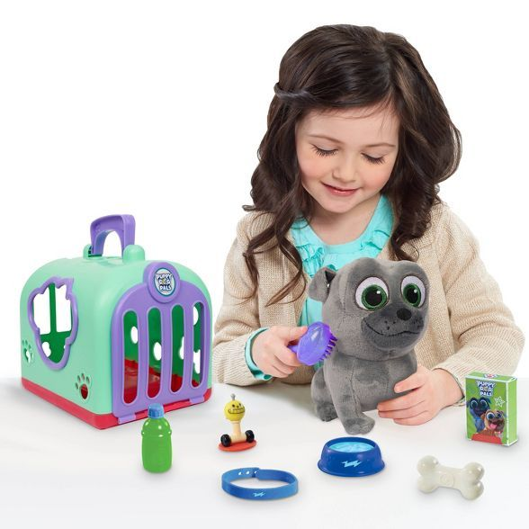 Disney Puppy Dog Pals Groom And Go Bingo With Carrier Dogs And Puppies Puppies Puppy Friends