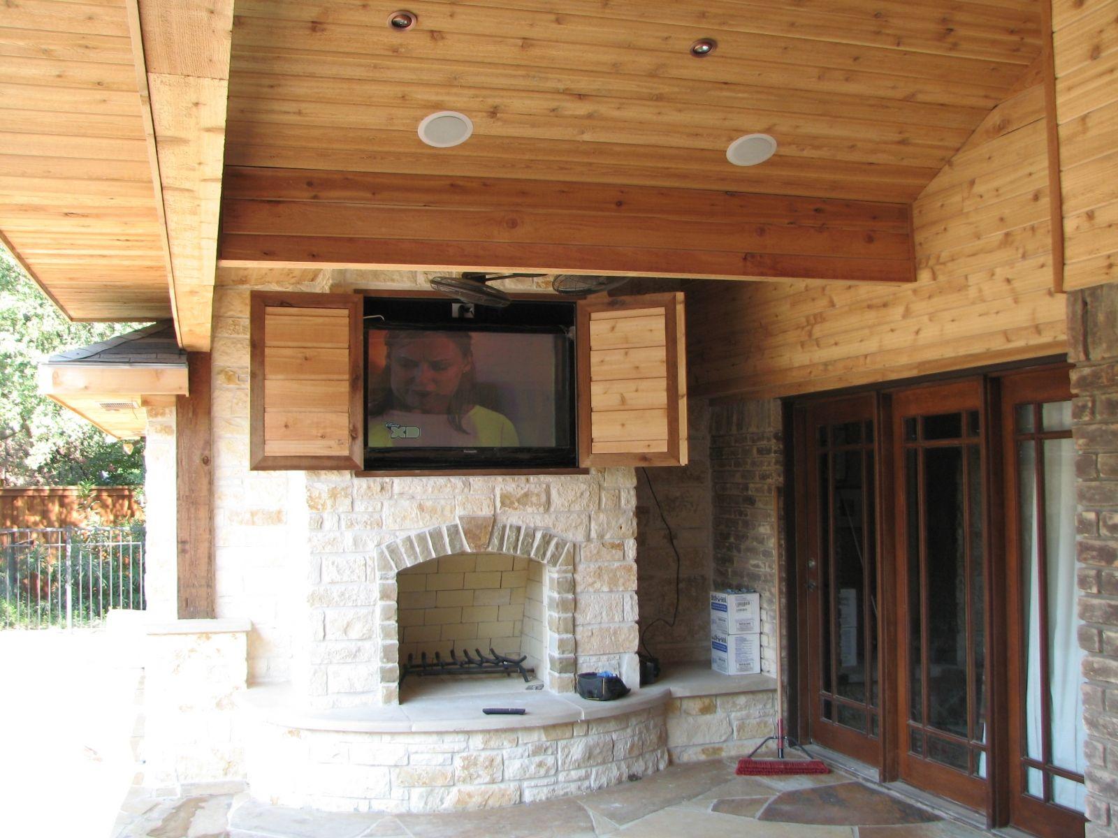stone+fireplace+storage | Entertainment Center Ideas ...