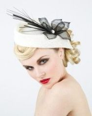 A beautiful hat, so 50s in its appeal. LOVE IT! Collections
