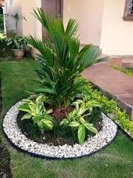 Resultado De Imagen Para Los Mejores Jardines Pequenos Del Frente De La Casa Small Front Yard Landscaping Rock Garden Landscaping Front Yard Landscaping