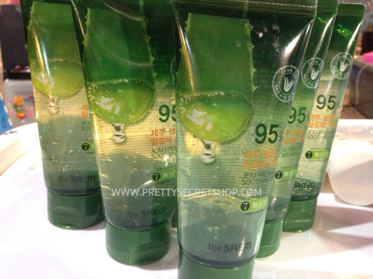 The Saem Jeju Fresh Aloe Soothing Gel 95 120 Ml