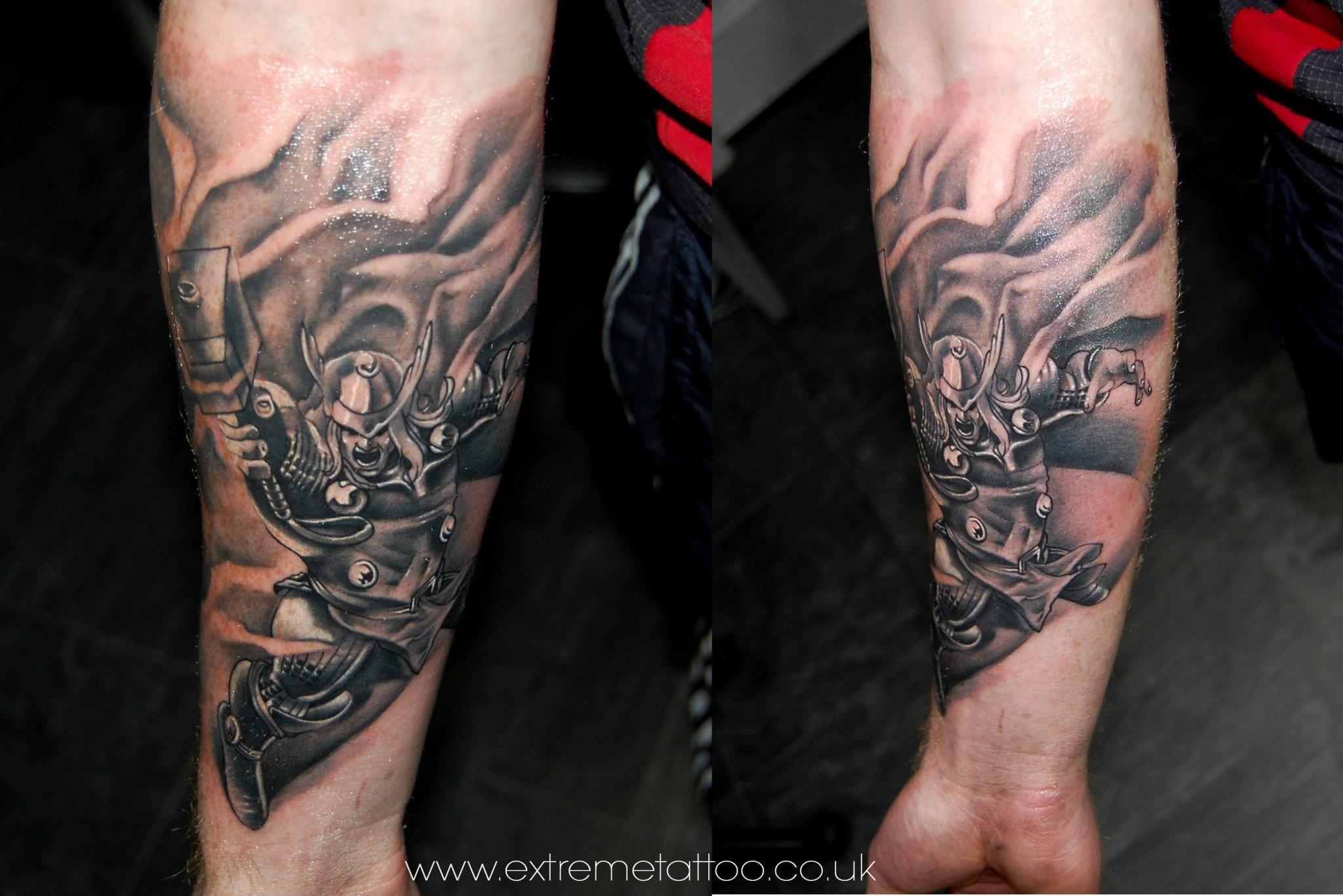 Line Art Tattoos : Thor tattoo gabi tomescu.extreme tattoo&piercing. fort william