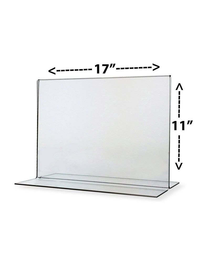 Ad Frame Sign Notice Stand 17 X 11 Clear Acrylic Sign Frames Or