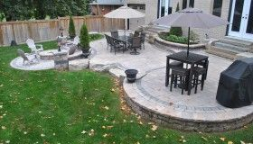 A patio with a very comfortable feel - OGS Landscape Services :: OGS Landscape Services