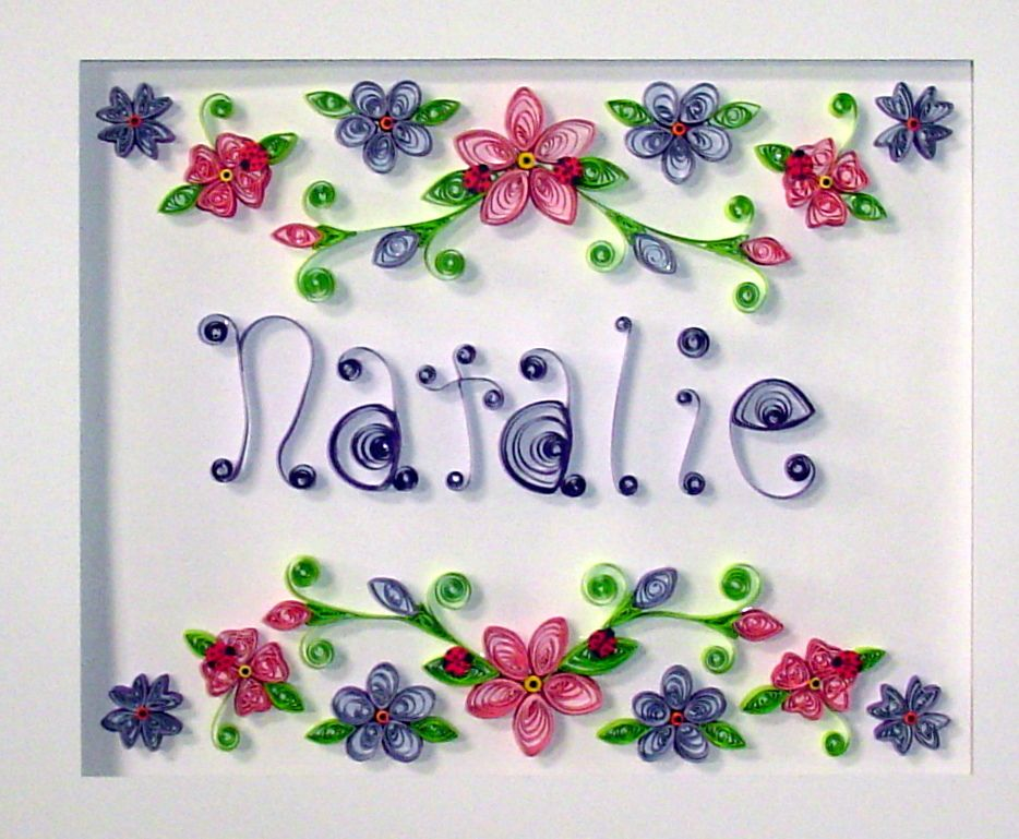 quilling paper (natalie)