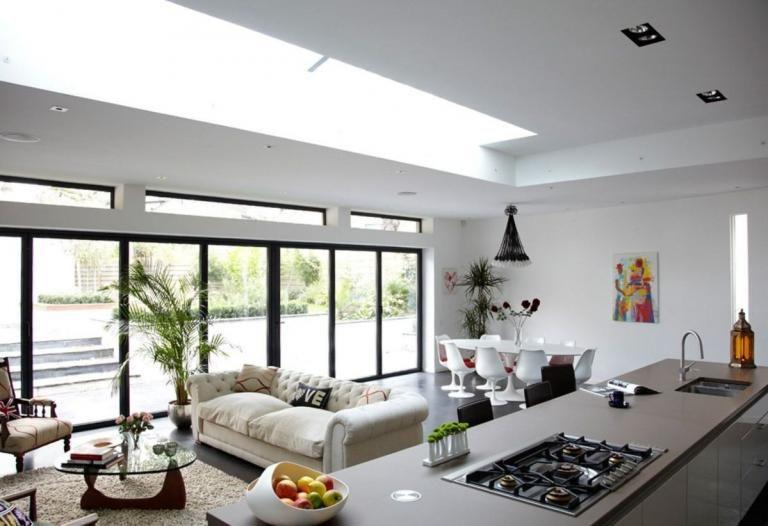 Gorgeous Open Kitchen To Your Home Decor Ideas Desain Ruangan Kecil Ruang Tamu Rumah Desain Kamar