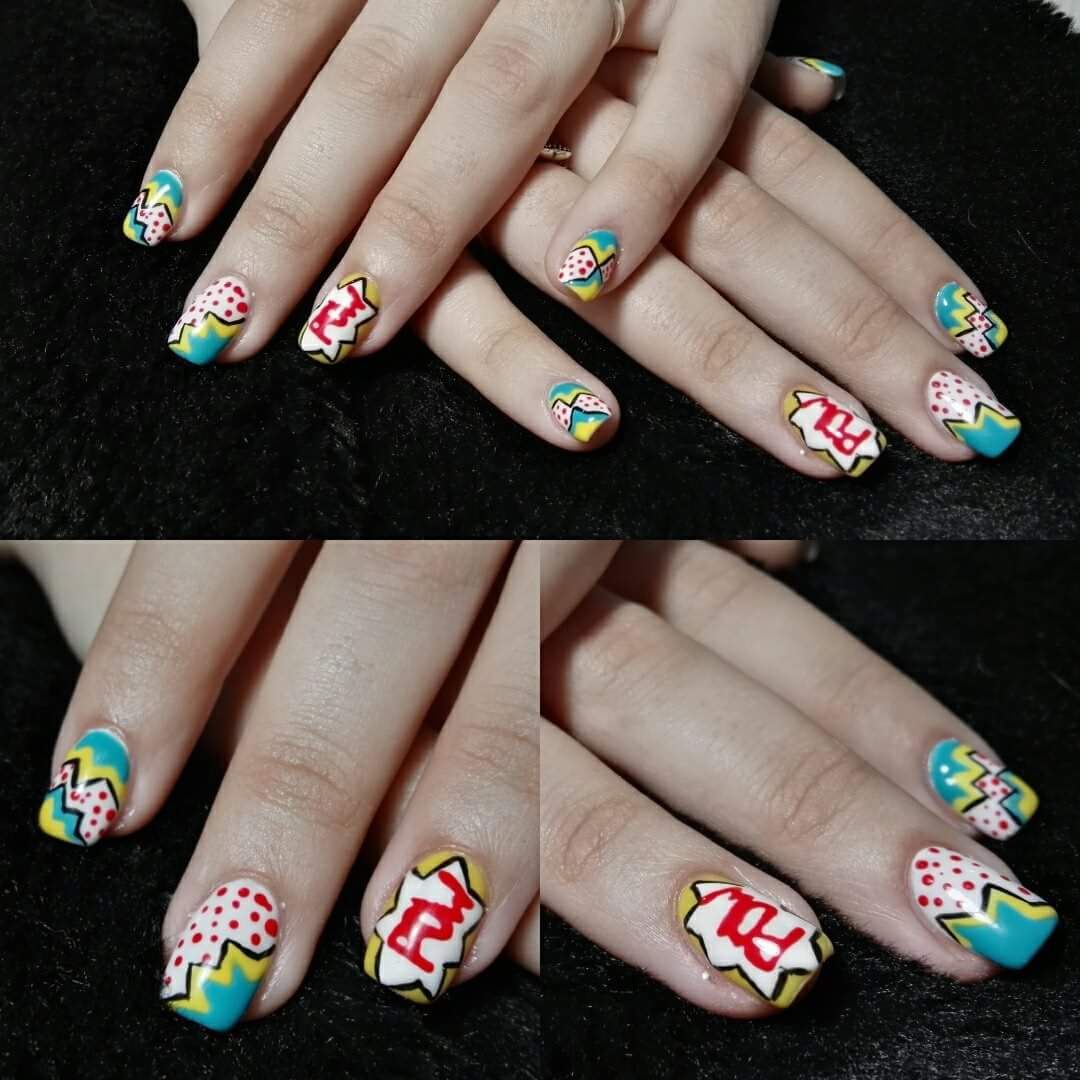 40 Personable Nail Art for Square Nails to Set the Ultimate Fashion ...