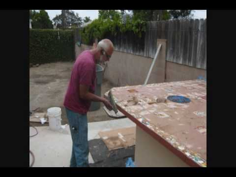 How To Build An Outdoor Kitchen With Metal Studs | How To Build A Custom Outdoor Kitchen No Metal Studs Bbq Grill