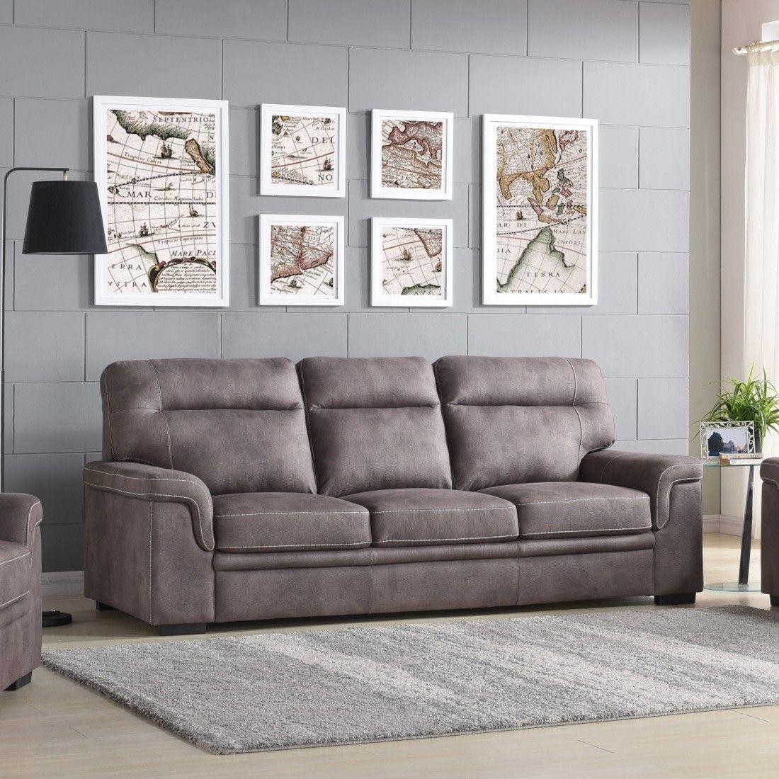 Titanic Furniture U158 Sofa In Gray Titanic Furniture Furniture