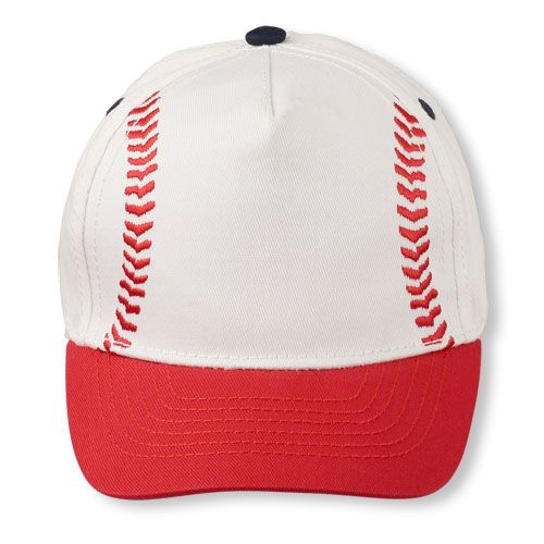 Baby Boys Toddler Boys Baseball Cap - White Hat - The Children s Place 6c816f8afdef