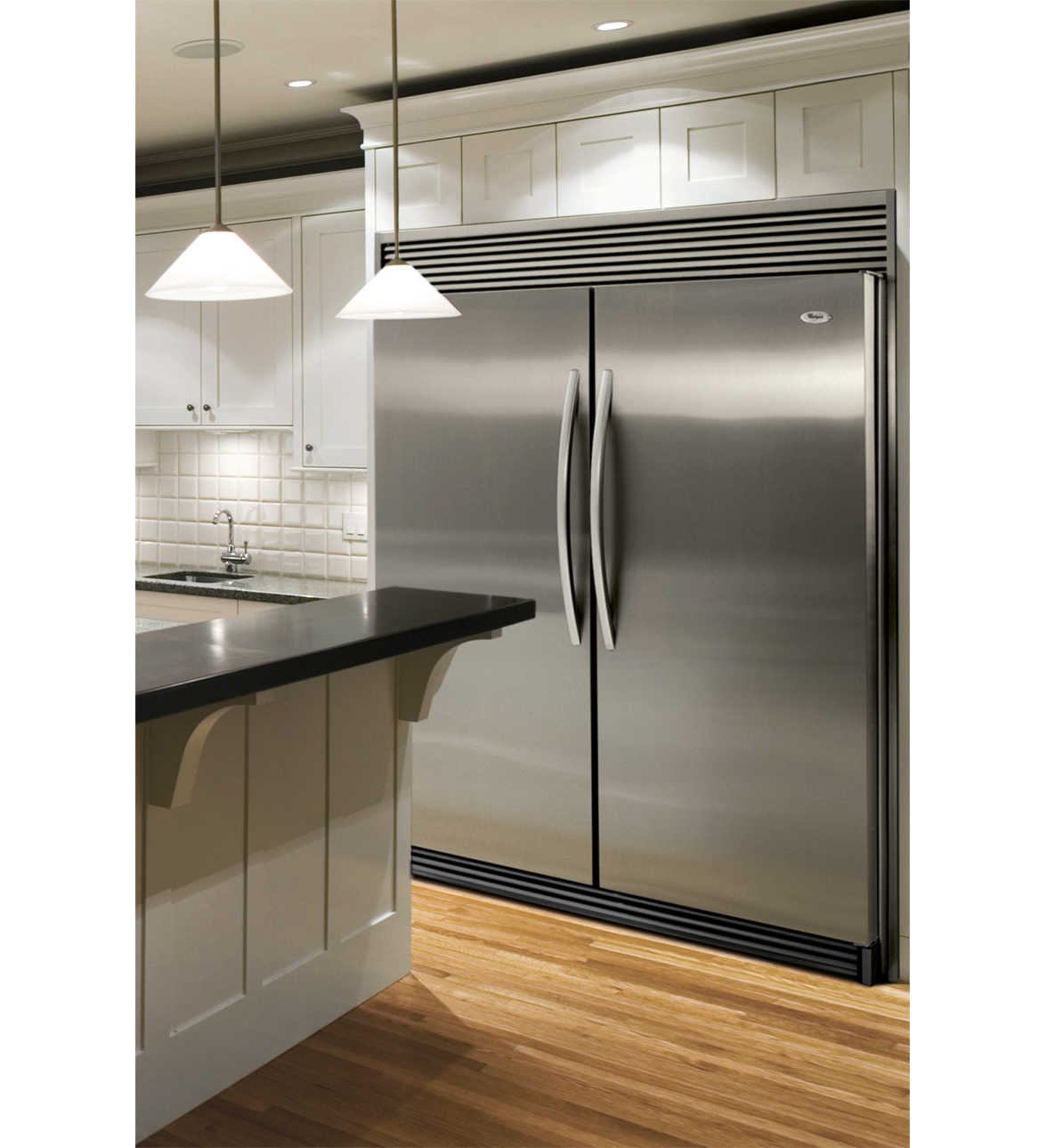 Frosted glass door refrigerator - Whirlpool Sidekick Side By Side Fridge And Freezer Duo Twice As Expensive As