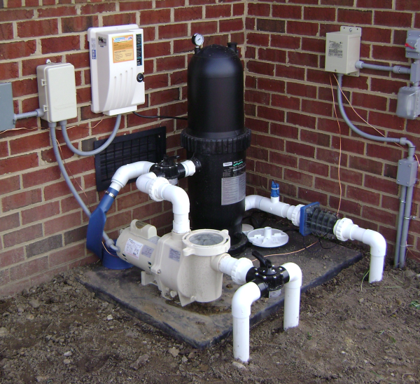 Where Should I Locate My Pool Filter System Pool Filter Systems Pool Pump Swimming Pool Plumbing
