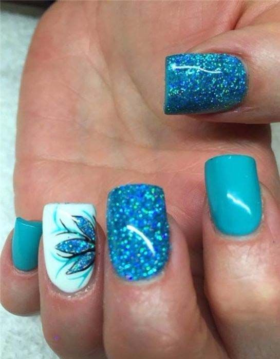 Creative and Pretty Nail Designs Ideas 2017 | Nail Art | Pinterest ...