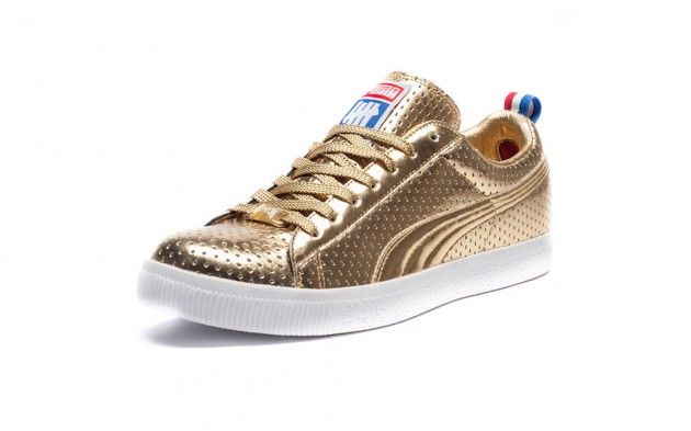 all gold puma sneakers