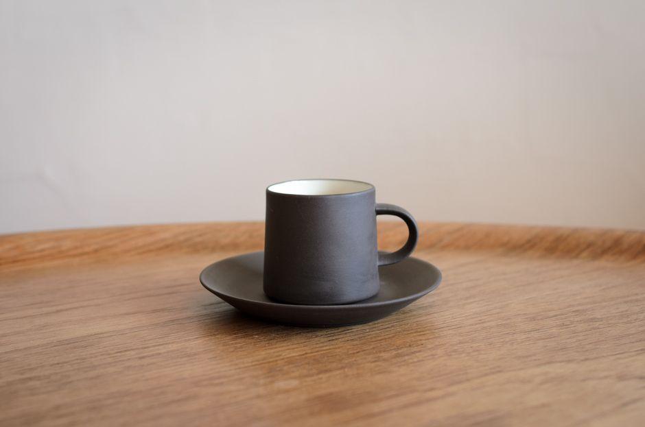 DANSK ダンスク Flamestone コーヒー カップ & ソーサー #2 Jens H Quistgaard/dan1-0187/北欧雑貨&北欧食器 カフェ KUPPI