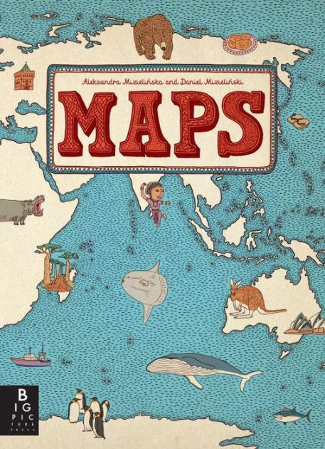 Gift ideas for little ones maps by aleksandra mizielinska and gift ideas for little ones maps by aleksandra mizielinska and daniel mizielinski from barnes and noble as seen on httpaladyinalabcoat gumiabroncs