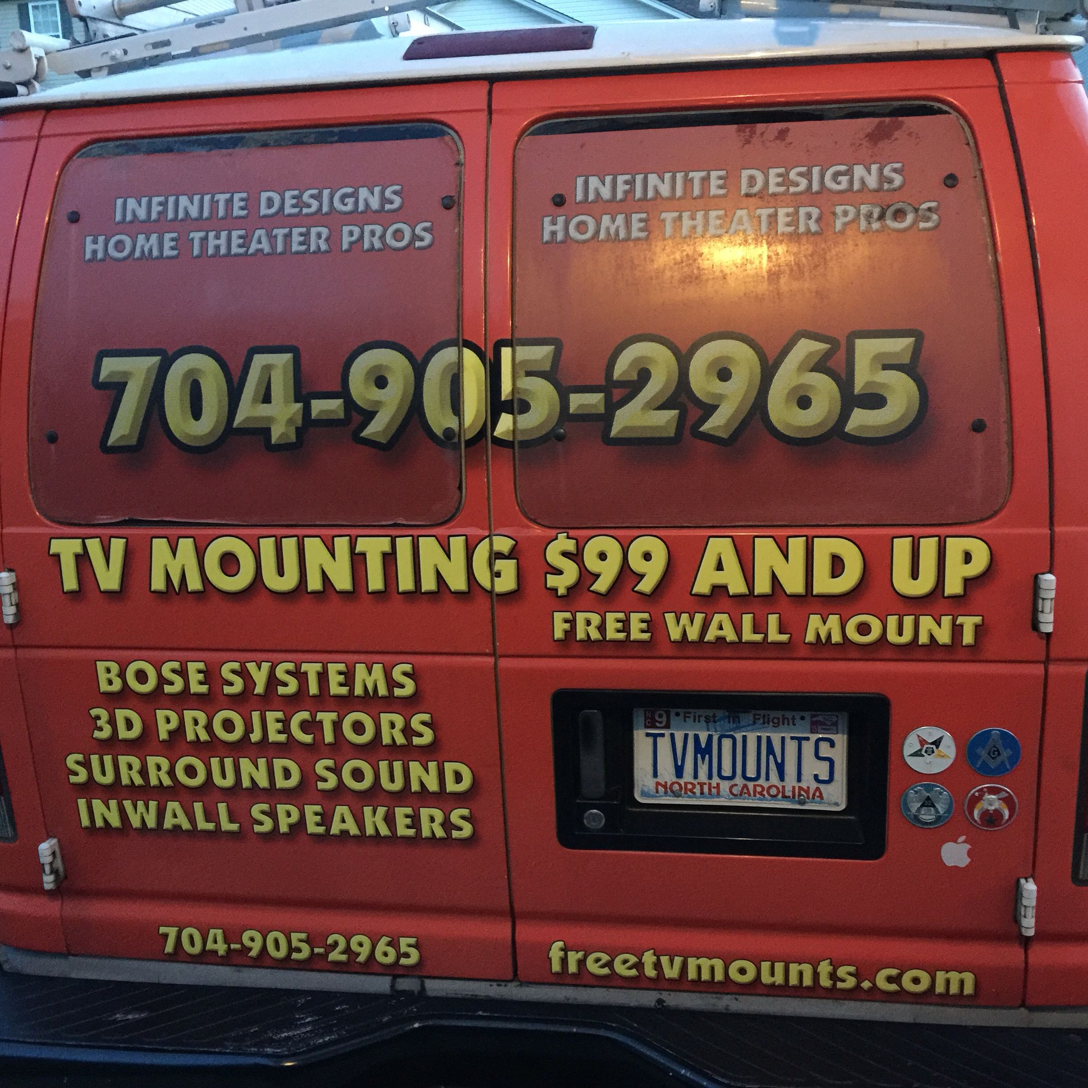 Pin on TV Mounting Service Flyers, Ads, Graphics https