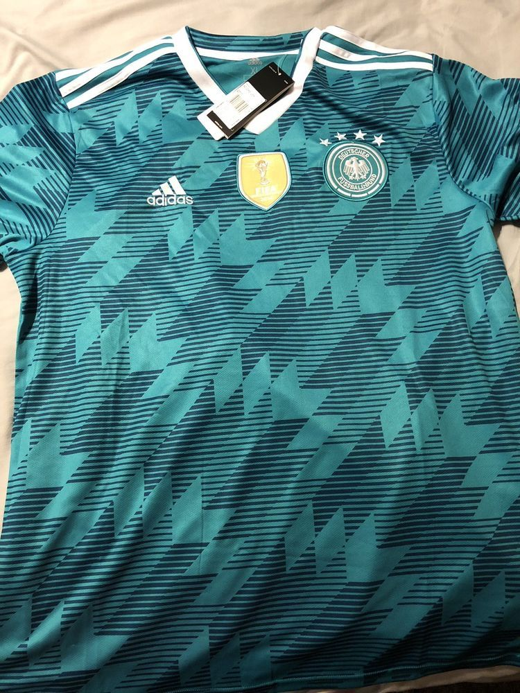5f8f6070f Germany Mens Soccer World Cup Jersey 2018 XL Adidas