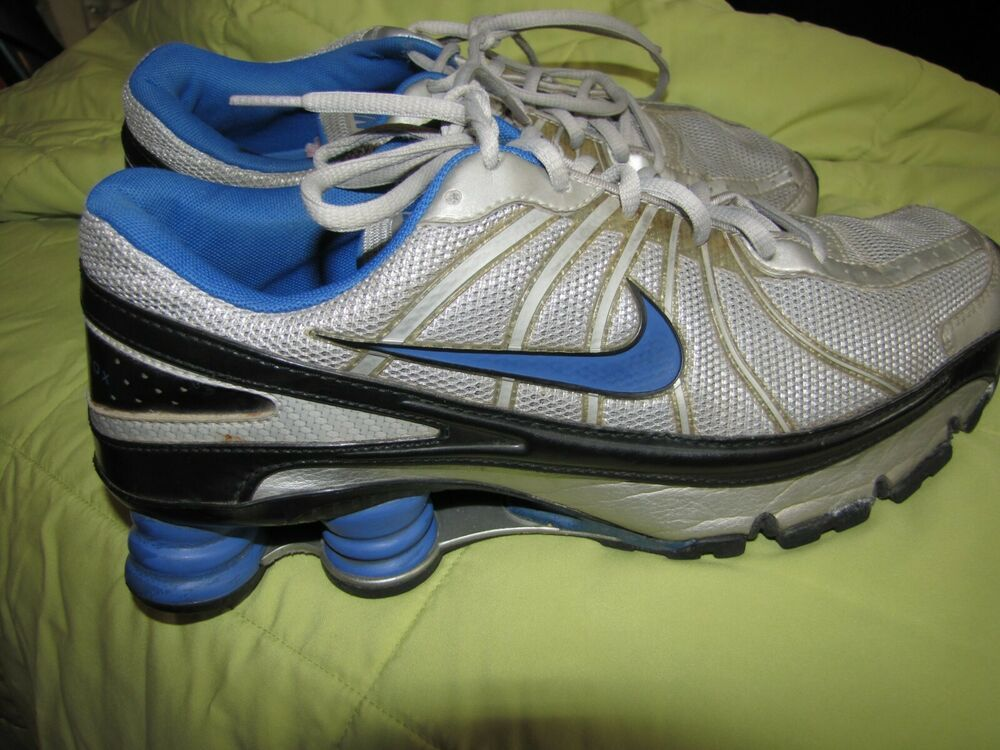 3991c6ea15c Nike Shox men's 10 blue grey silver mesh #fashion #clothing #shoes  #accessories #mensshoes #athleticshoes (ebay link)
