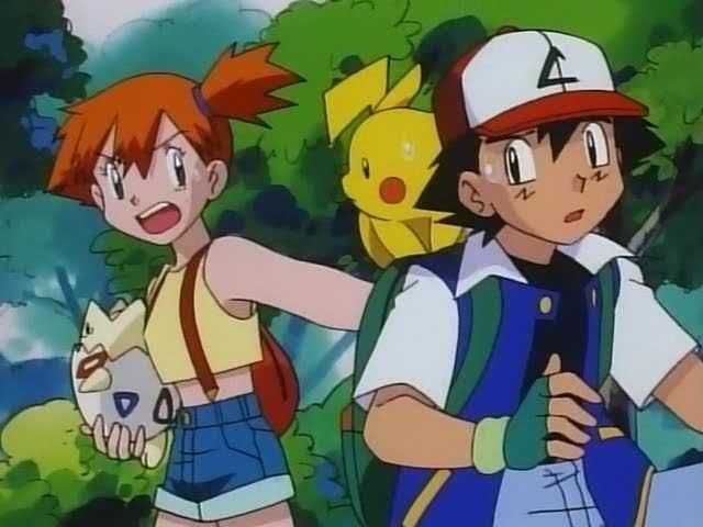 Such A Cute And Funny Screenshot Misty From Pokemon Play Pokemon